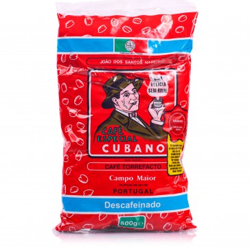 Café Cubano Portugués Torrefacto Descafeinado 500 g