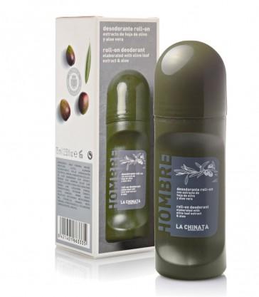 Desodorante Roll-on Con Hoja De Olivo Y Aloe Vera