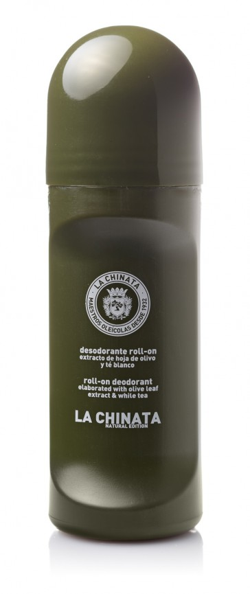 Desodorante Roll-on Con Hoja De Olivo Y Té Blanco