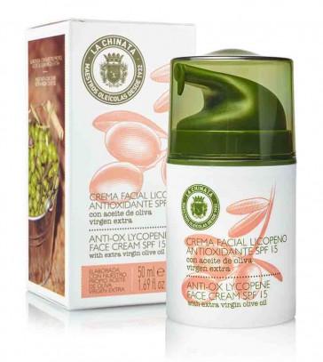 Crema Facial Con Licopeno Antioxidante Spf15