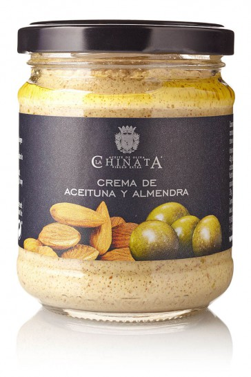Crema De Aceitunas Y Almendras