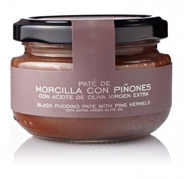 Paté De Morcilla Y Piñones Con Aceite De Oliva Virgen Extra