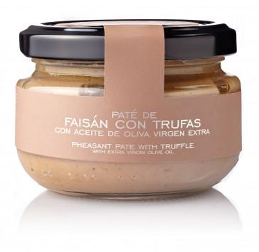 Paté De Faisán Con Trufas Al Aceite De Oliva Virgen Extra