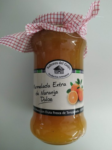 Mermelada Artesana De Naranja Dulce