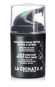 Mascarilla Facial Detox Arcilla Y Carbón