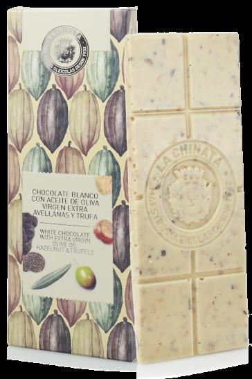 Chocolate Blanco Con Aove, Avellana Y Trufa