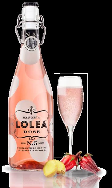 Lolea Nº5 Rosé 75cl.