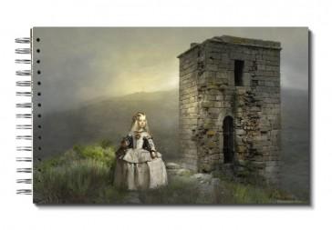 """Libreta """" Menina Por El Mundo"""": España, Extremadura, Cáceres, Sierra De Gata, Eljas. Castillo."""