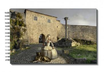 "Libreta "" Menina Por El Mundo"": Europa, Portugal. Penamacor. Castillo."