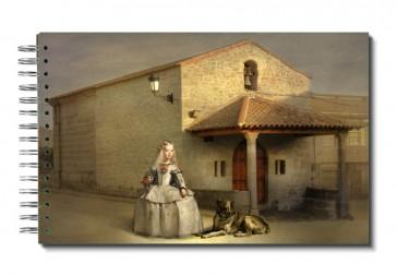 "Libreta ""menina Por El Mundo"": España, Extremadura, Cáceres, Sierra De Gata, Valverde Del Fresno."