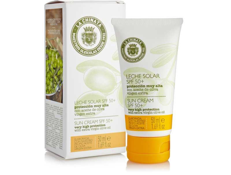 Leche Solar Protección Facial Spf +50