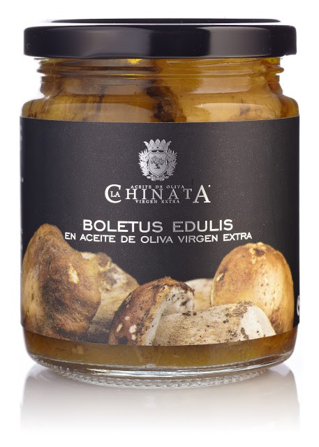 Boletus En Aceite De Oliva Virgen Extra