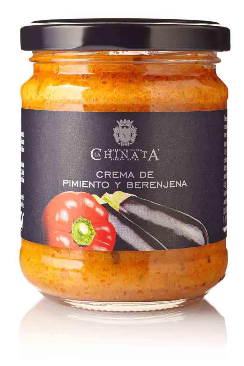 Crema De Pimientos Y Berenjenas