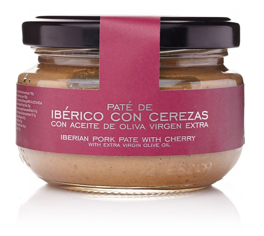 Paté De Ibérico Con Cerezas Al Aceite De Oliva Virgen Extra