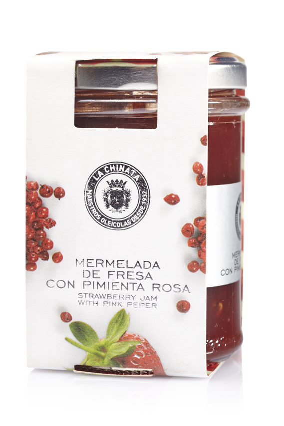 Mermelada De Fresa Con Pimienta Rosa