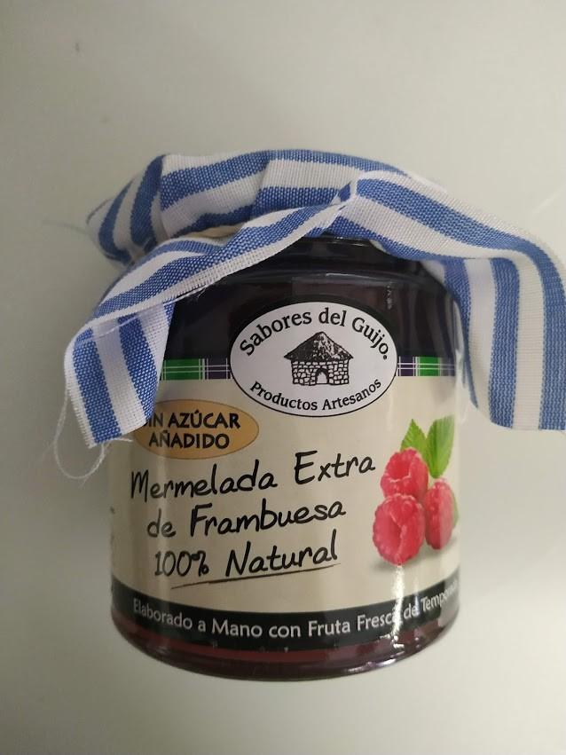 Mermelada Artesana De Frambuesa S/azúcar