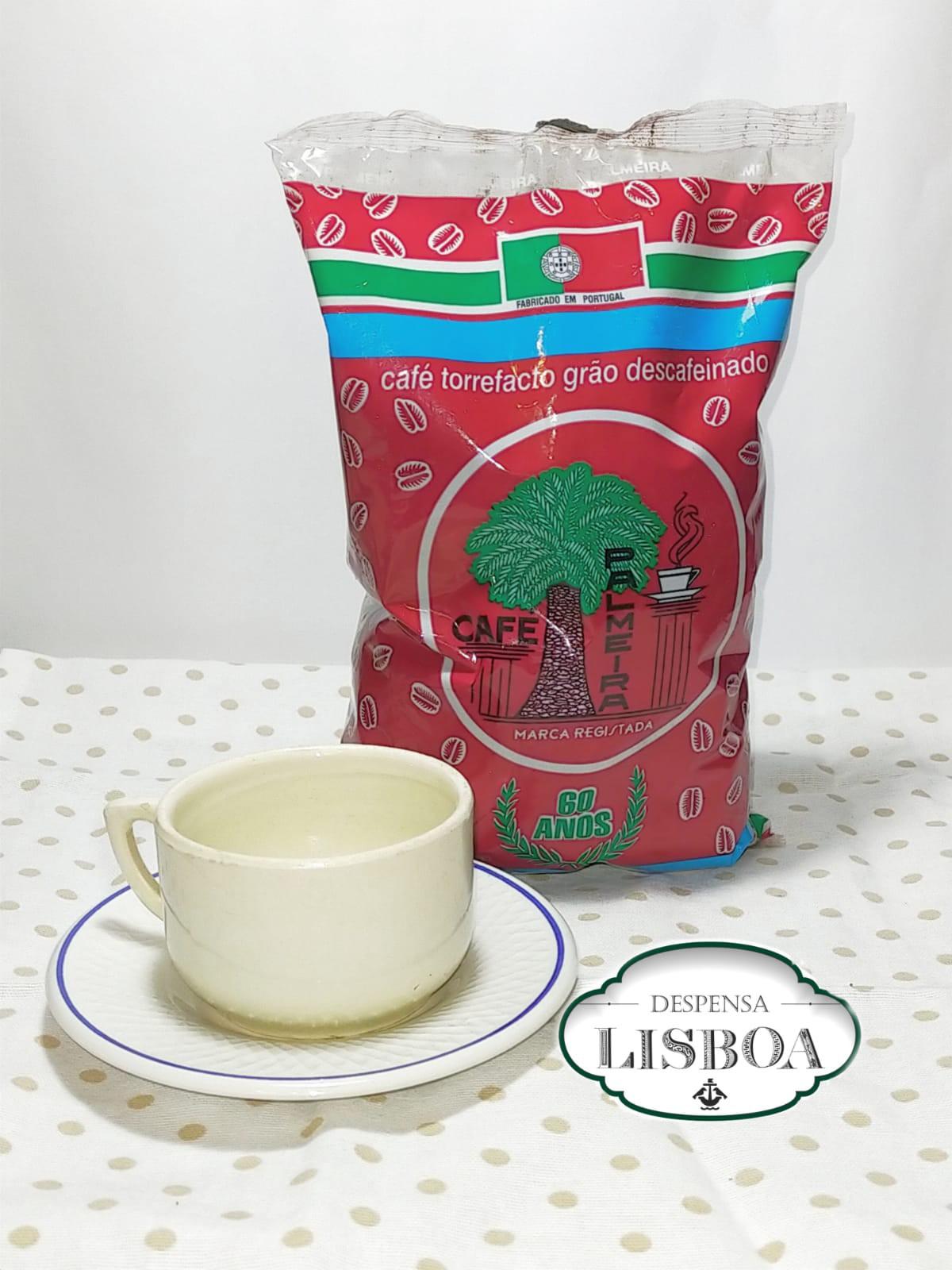 Café Palmeira Torrefacto Descafeinado Grano 0,5 Kg