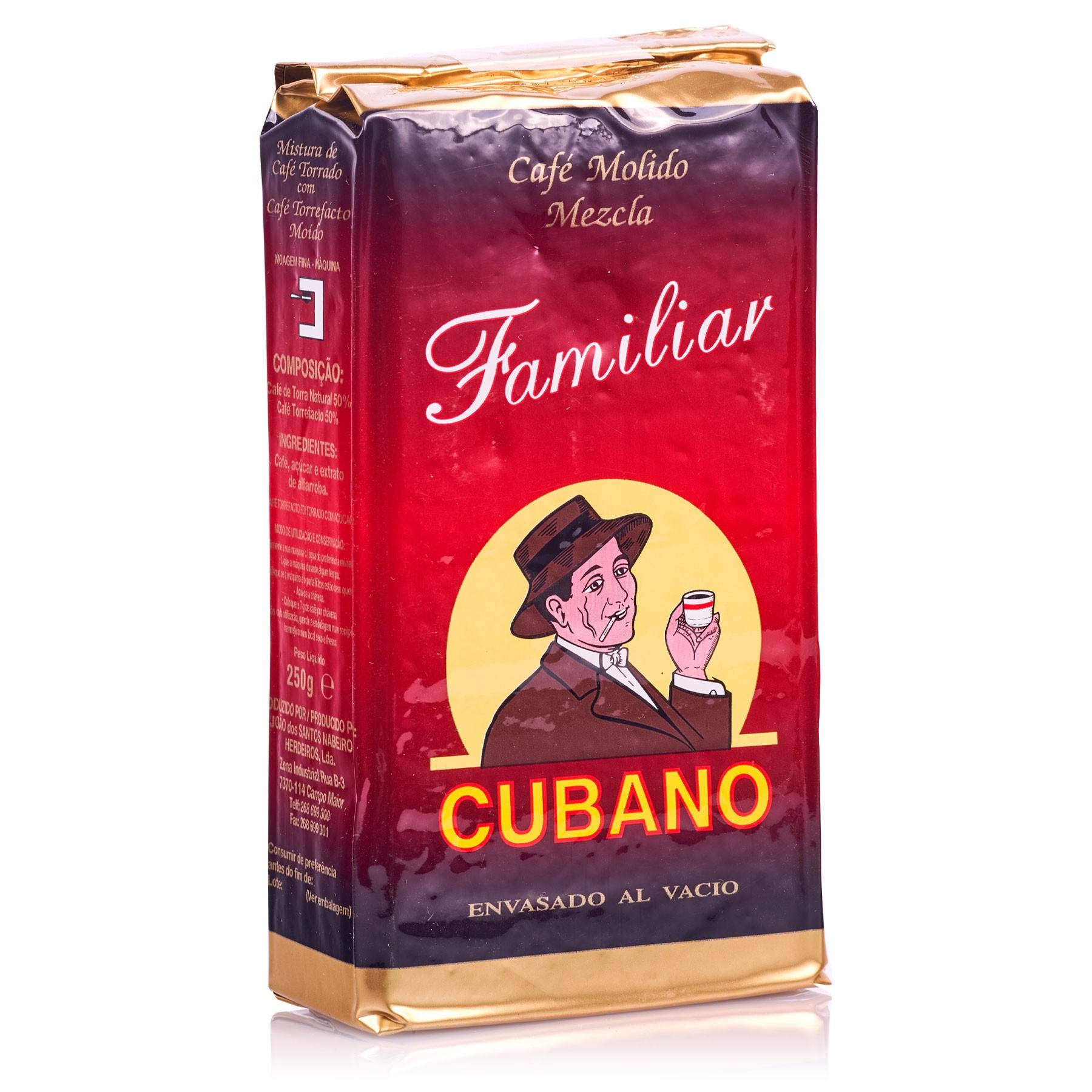 Café Cubano Molido Mezcla 250 g Familiar
