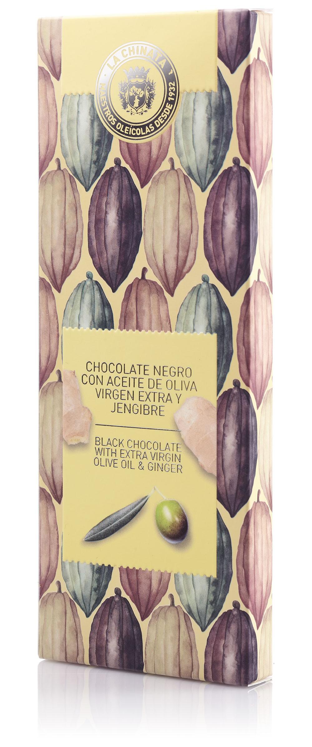 Chocolate Negro Con Aove Y Jengibre
