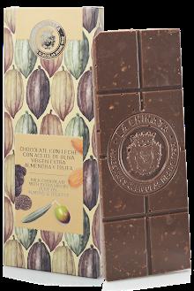 Chocolate Con Leche Con Almendra Y Trufa