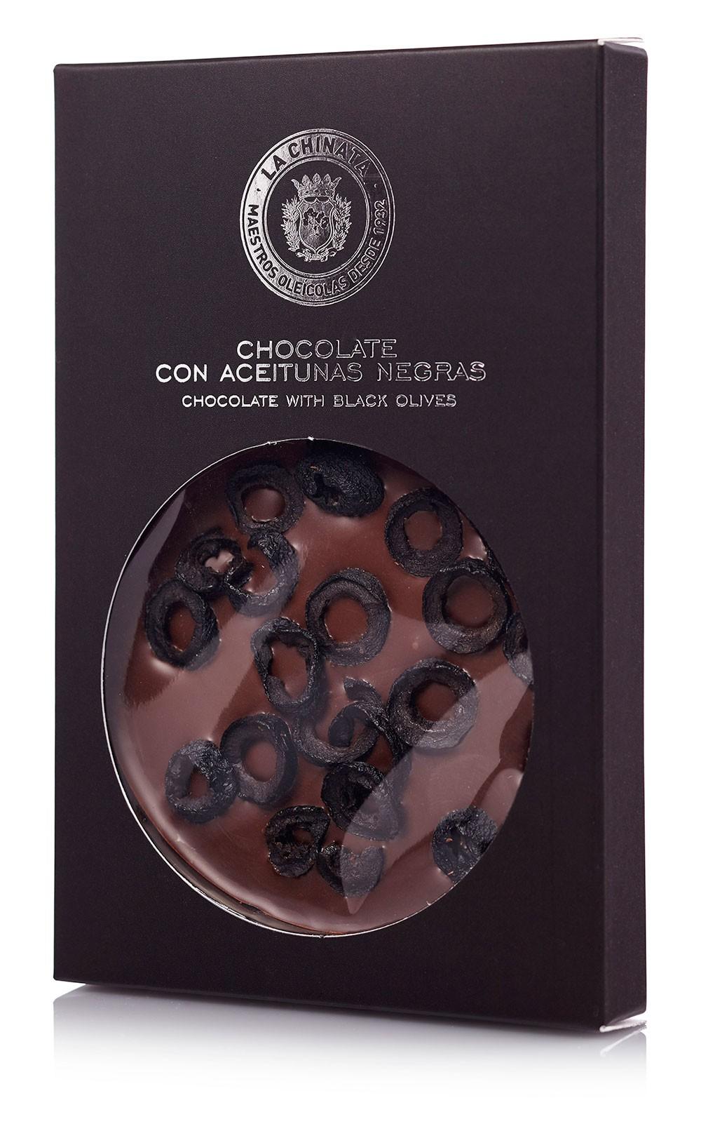 Chocolate Con Aceituna Negra