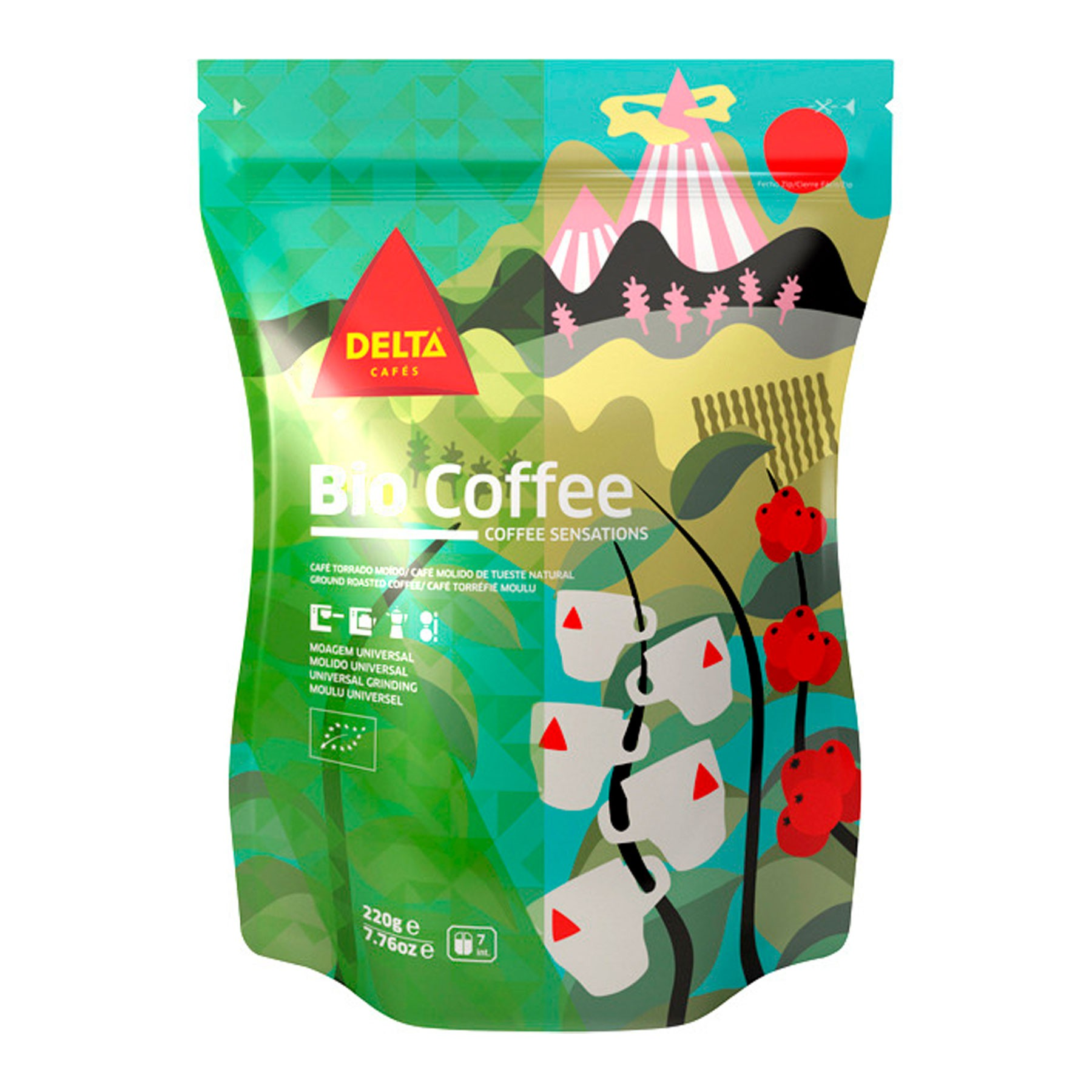 Café Delta Organic 250 g