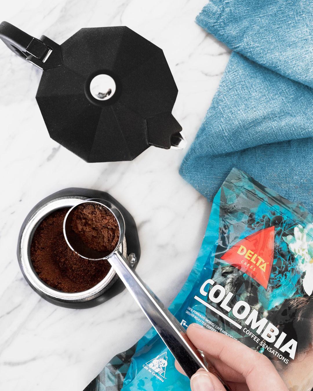 Café Delta Colombia Molido 0,25 Kg