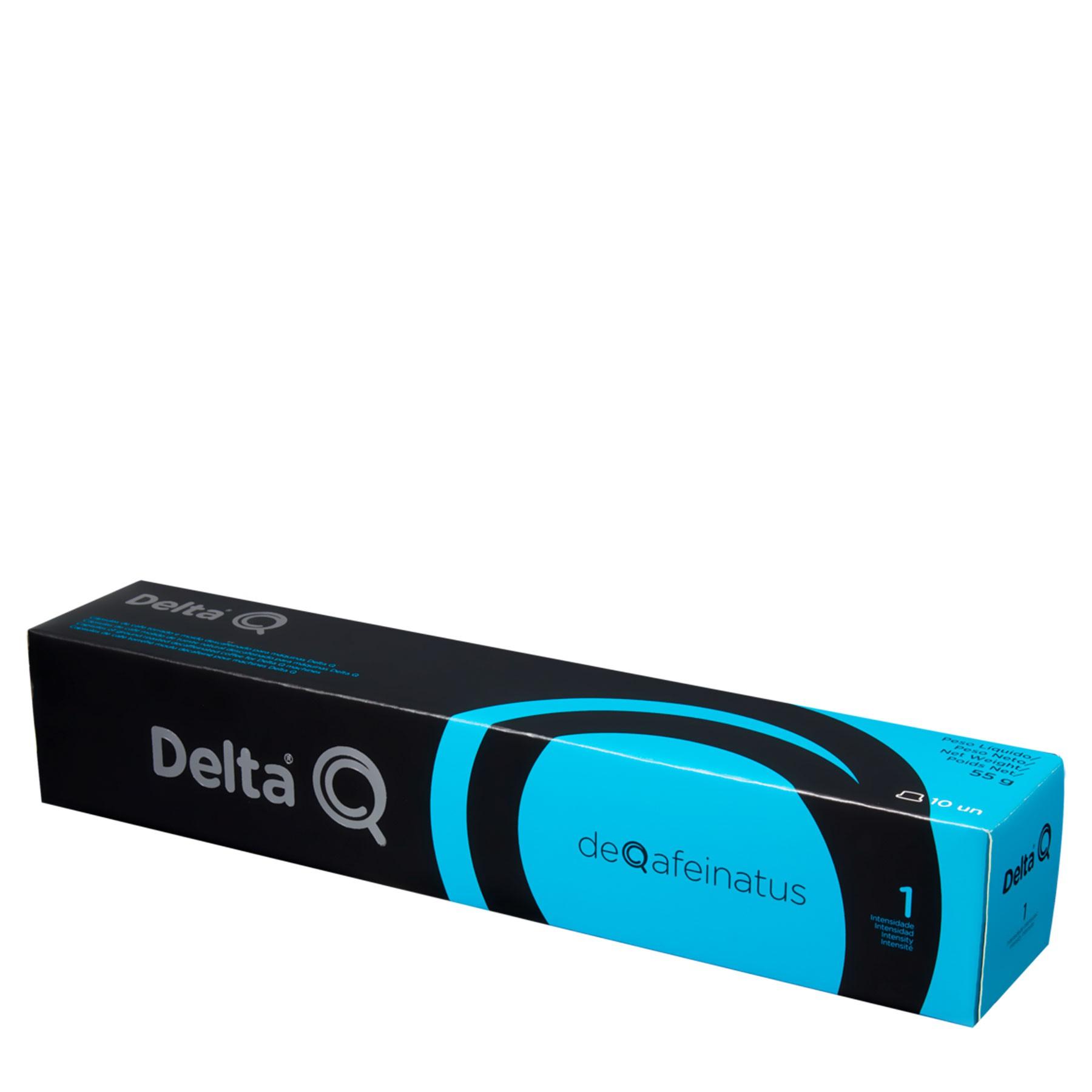 Cápsulas Delta Deqafeinatus (blister de 10 cápsulas)