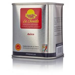 """Lata Dulce 70 Gr. Pimentón Ahumado """"la Chinata"""" Premium"""