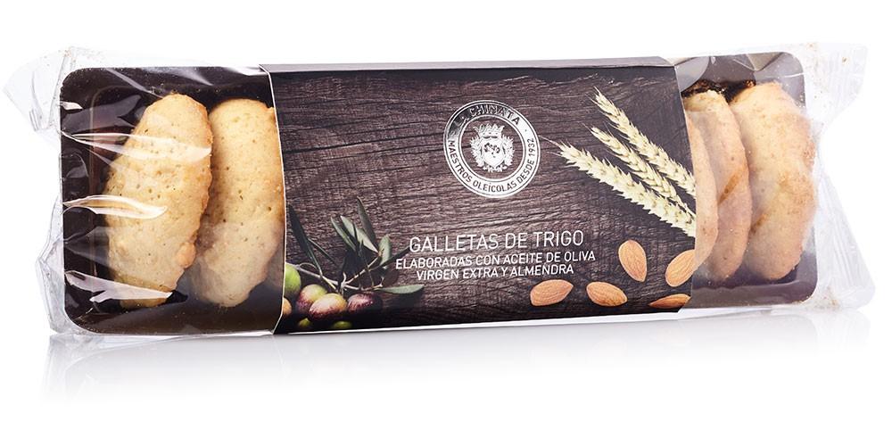 Galletas De Trigo Y Almendra