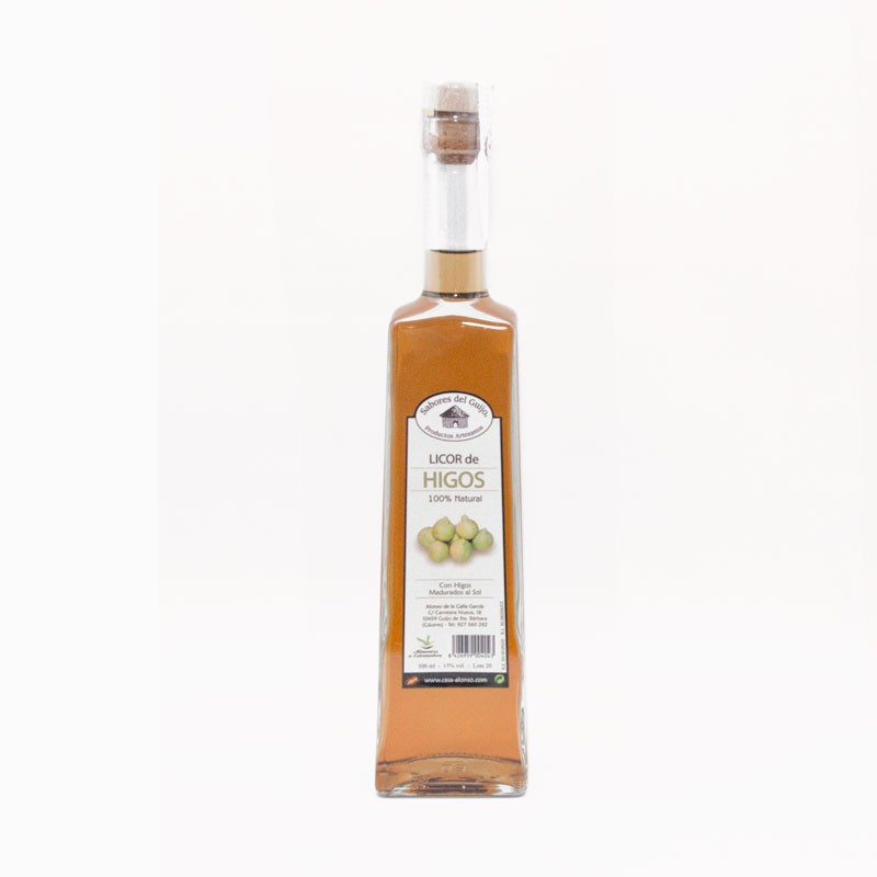 Licor Artesano De Higo 500 Ml
