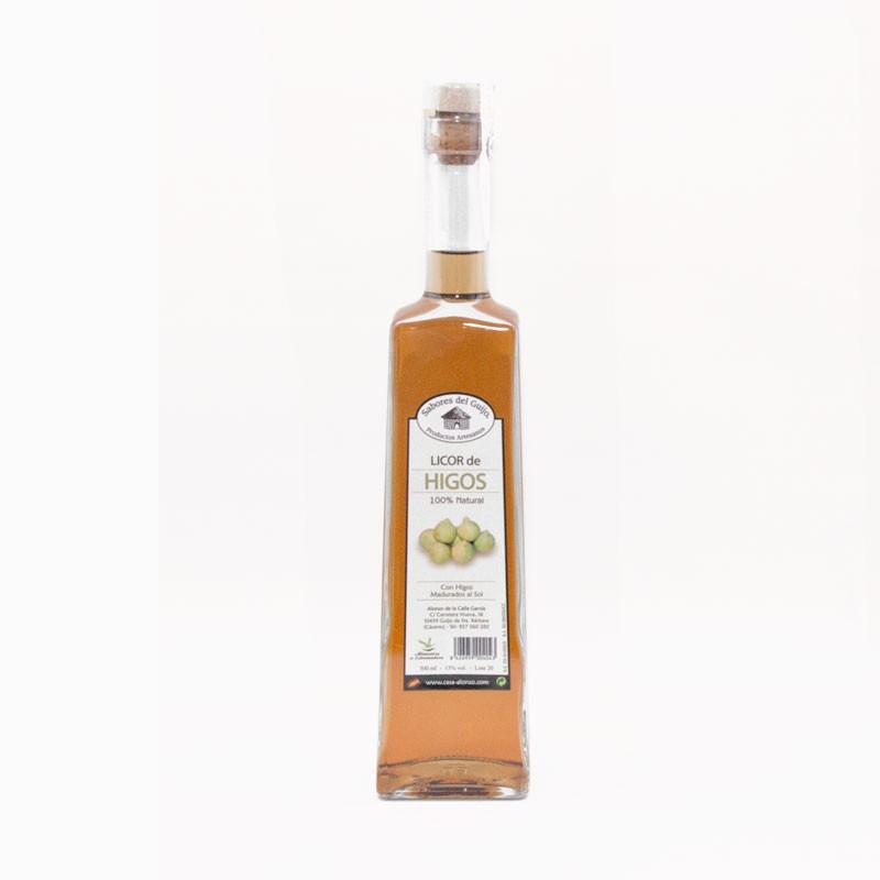 Licor Artesano De Higo 500 Ml