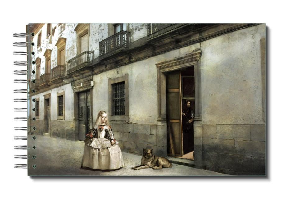 """Libreta """"menina Por El Mundo"""": España, Extremadura, Cáceres, Sierra De Gata, Cilleros. Casa Grande."""