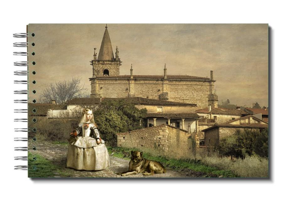 "Libreta "" Menina Por El Mundo"": España, Extremadura, Cáceres, Sierra De Gata, Hoyos."