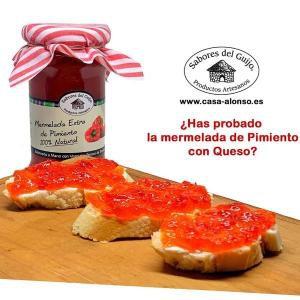 Mermelada Artesana De Pimiento Rojo