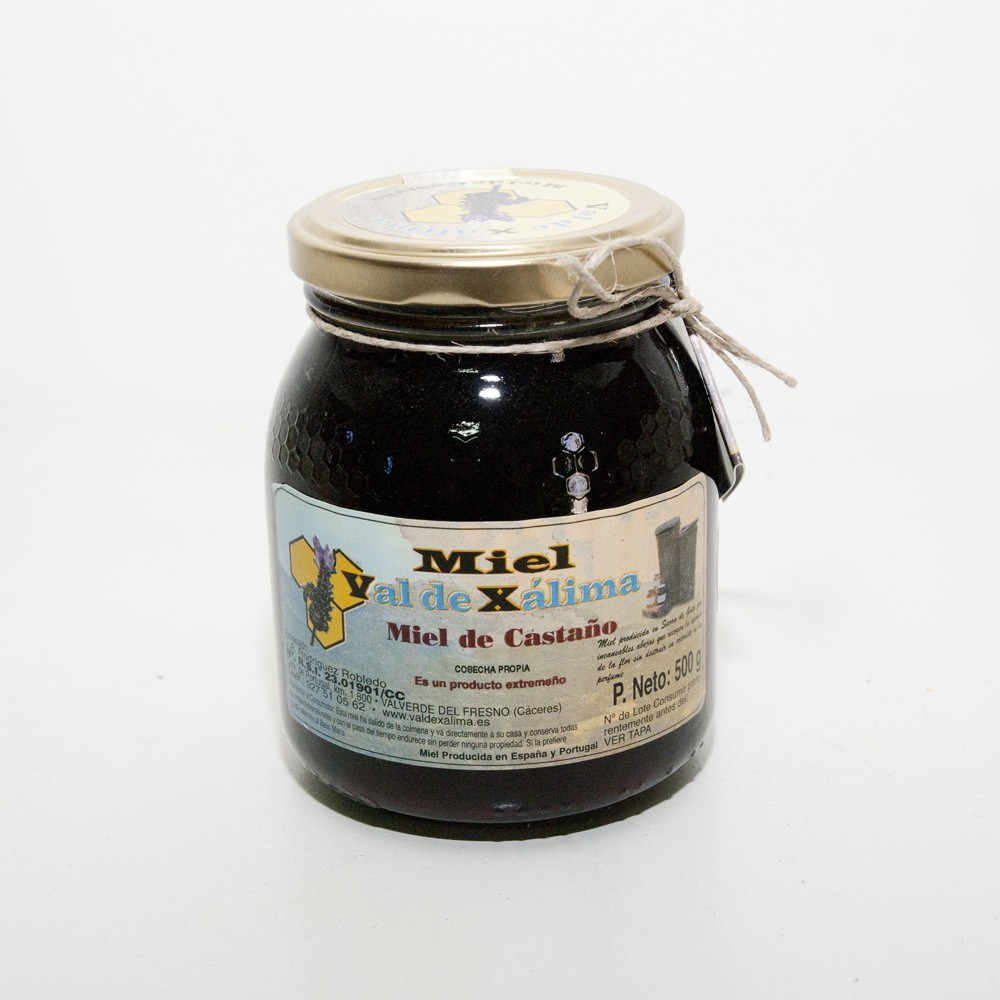 Miel De Castaño Val De Xalima 1kg