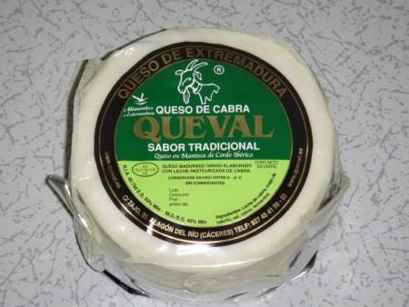 Queso De Cabra Queval Curado En Manteca De Cerdo Ibérico